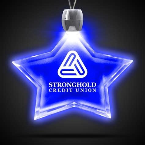 light blue usa led blue light up led acrylic pendant necklace everything