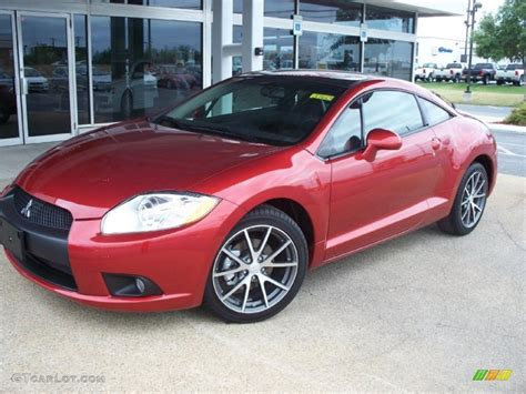 mitsubishi red mitsubishi eclipse red color car pictures