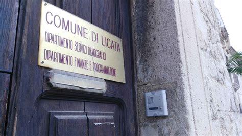 ufficio comunale comune moroso deliberata transazione con girgenti acque