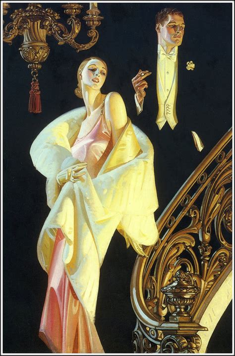 leyen decker beautiful paintings j c leyendecker 1932