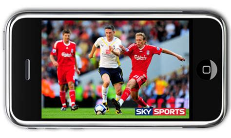 live tv on mobile sky mobile tv launches on iphone media the guardian