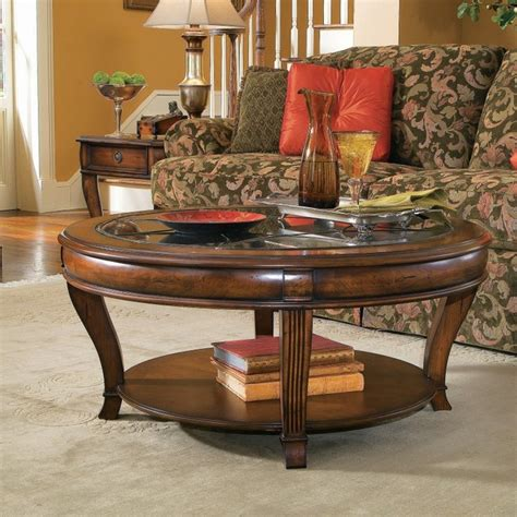 living room coffee table sets hooker furniture brookhaven 3 piece round coffee table set hook1426 contemporary living