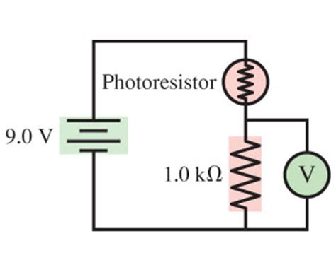 what does a photoresistor do a photoresistor whose resistance decreases with l chegg