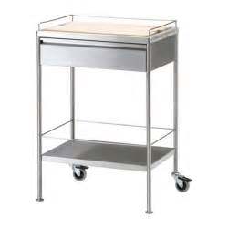 flytta kitchen cart stainless steel rolling kitchen