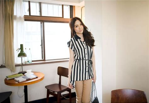 Blouse Bordir Garis Import blouse wanita import garis garis cantik model terbaru jual murah import kerja