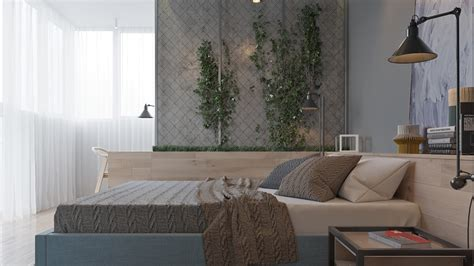 bedroom wall padding two muted tone exposed brick pads for young families