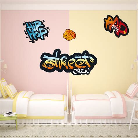 graffiti wall stickers uk wallstickers folies graffiti set wall stickers