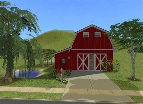 red barn dog house red barn house