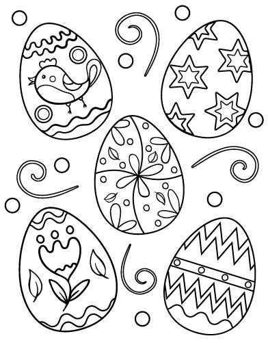 easter bunny coloring pages pdf printable easter egg coloring page free pdf download at