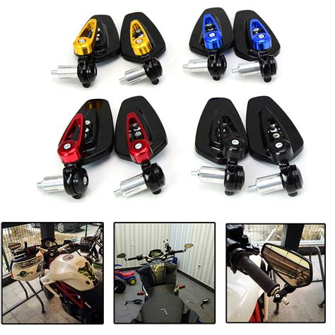 Lu Led Motor Cbr 250 universal motorcycle scooter rearview mirrors for honda