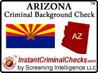 Free Criminal Background Check Arizona Arizona Criminal Background Checks For Pre Employment