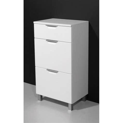 meuble de rangement conforama 1253 meuble bas de salle de bains camelia coloris b achat