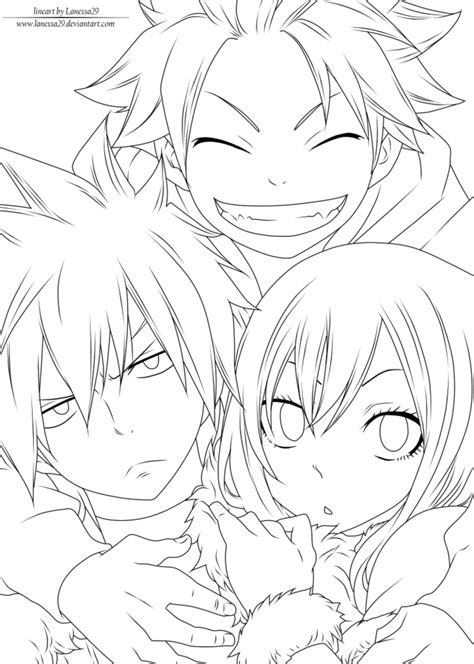 Fairy Tail Best Friends Lineart By Lanessa29 On Deviantart Coloriage Halloween A Imprimer Gratuitement Load In