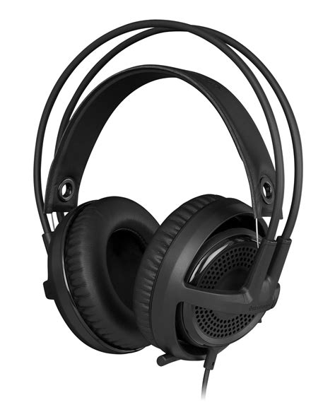 steelseries siberia v3 comfortable gaming headset black computers accessories