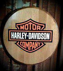 harley davidson bourbon whiskey barrel sign top harley