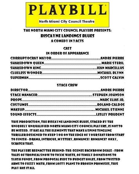 Playbill Template Word Exles Knowing Besides 26 Of Sles Infovia Designer Runticino Playbill Template Docs