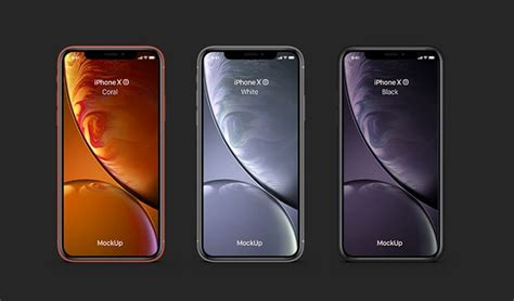 21 iphone x xs xr mockups you for free photoshop sketch illustrator adobe xd