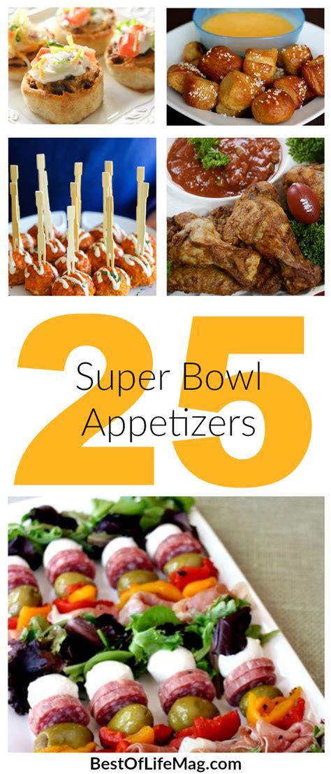 super bowl appetizers the ultimate super bowl food ideas list 165 recipes