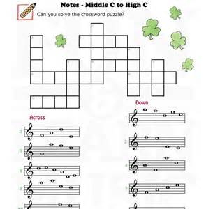 Galerry music note coloring worksheets