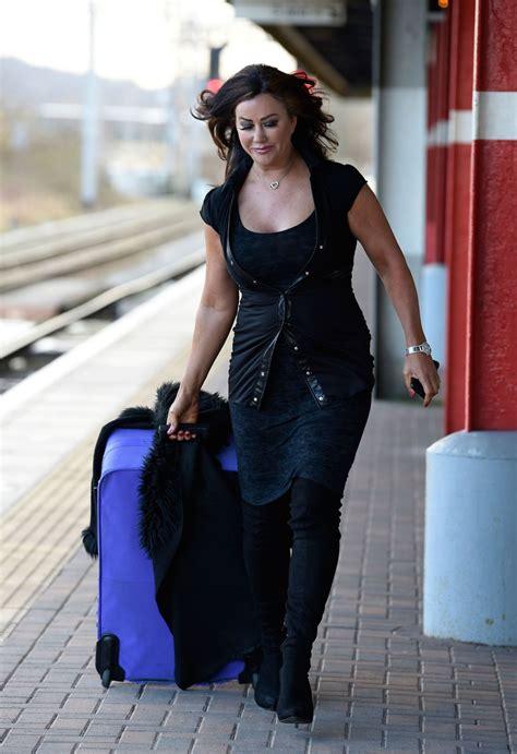 lisa appleton lisa appleton at a train station in london 01 05 2017