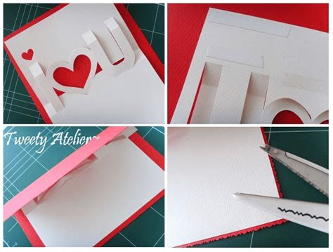 pattern pop up love diy pop up cards tutorial www imgkid com the image kid