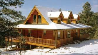 log homes with wrap around porches ranch style log home plans ranch style log homes with wrap