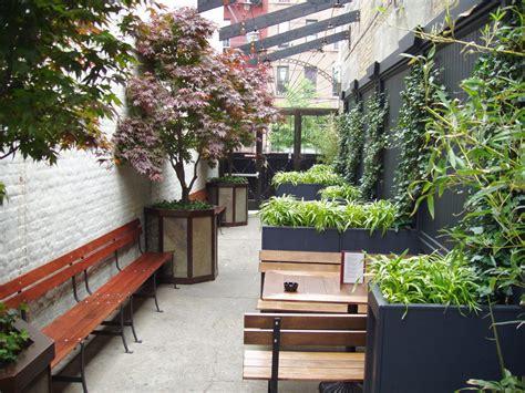Outdoor Garden Nyc by Spazio Outdoor Restaurant Design Designs Decorating Ideas Trends Chsbahrain
