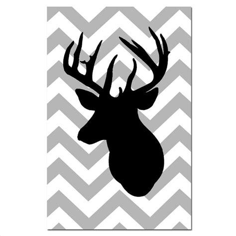 large printable reindeer head free deer silhouette cliparts co