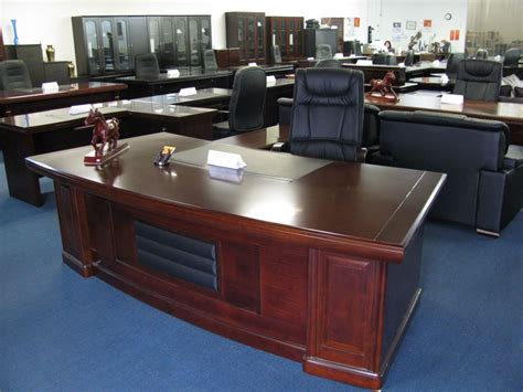 used contemporary executive desk modern contemporary