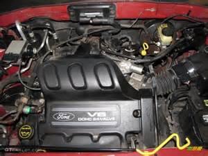 2001 ford escape xls v6 4wd 3 0 liter dohc 24 valve v6
