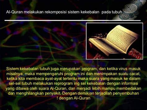 Sehat Dengan Al Quran pengobatan dengan al qur an