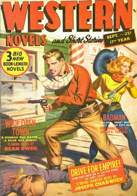 rough edges saturday morning western pulp western novels  short stories september