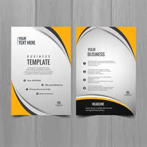 Business Brochure Template Free by Modern Business Brochure Template Vector Free
