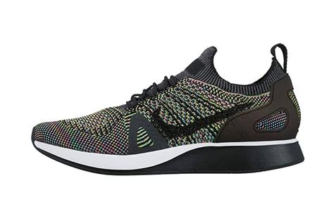 Nike Zoom Hi Top Androgynous Chic by Nike Air Zoom Flyknit Racer Black Multi Fastsole