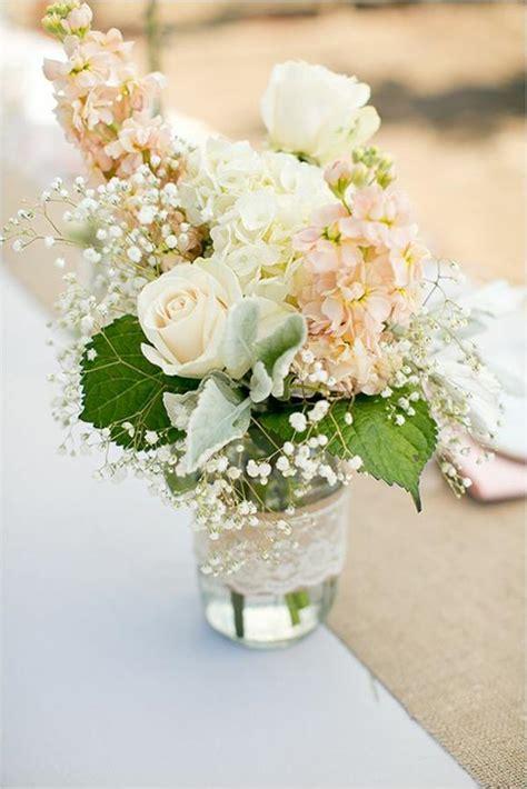 Tisch Blumen Hochzeit by Vintage Tischdeko Zur Hochzeit 100 Faszinierende Ideen