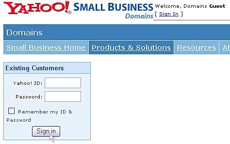 yahoo email hosting tutorials doteasy com