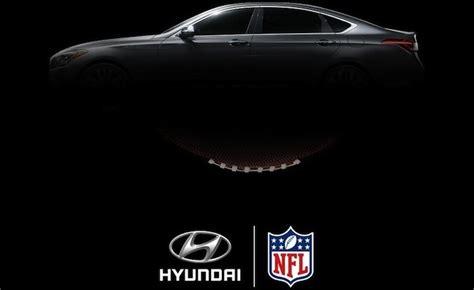 hyundai sponsorship hyundai replaces general motors as nfl auto sponsor