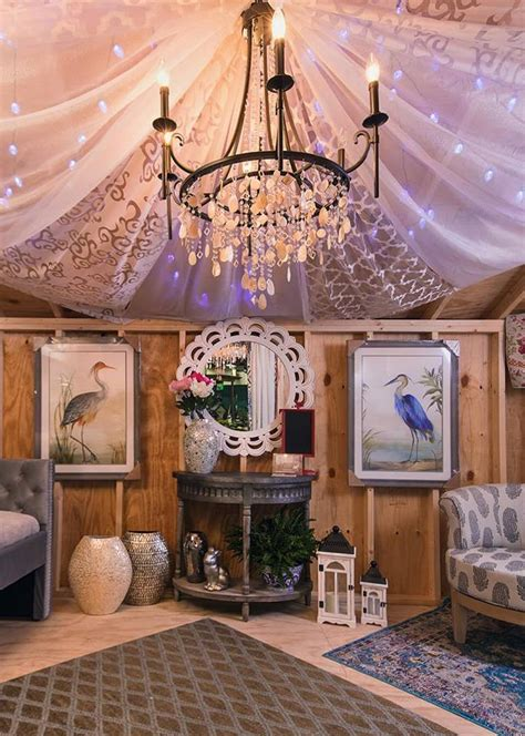 shed  flower show  abca design decorating