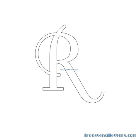 Letter Pattern retro stencils for walls with numbers free stencil letters