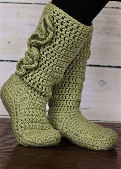 crochet slipper pattern free 10 diy free patterns for crochet slipper boots patterns