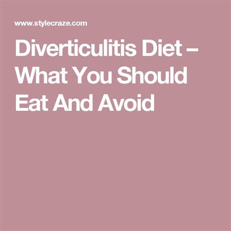What Can You Eat On A Detox Diet by 25 Best Diverticulitis Ideas On Digestive