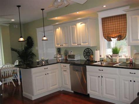 Our Kitchen, The countertops are dark green granite (it