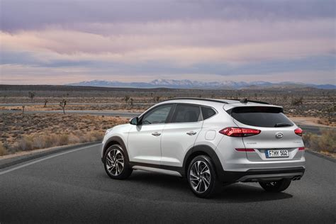 Hyundai Tucson 2019 Facelift by 2019 Hyundai Tucson Facelift Rear Three Quarters