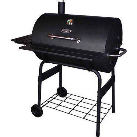 backyard grill 30 quot barrel charcoal grill black walmart