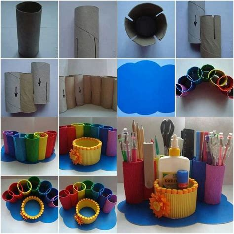 Craft Ideas For Toilet Paper Rolls - toilet paper roll craft 02