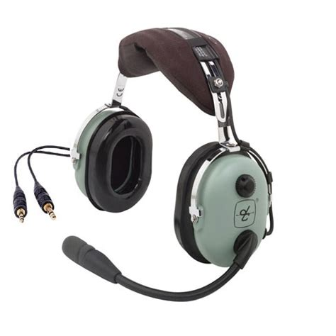 Headset Air david clark h10 13s headset stereo from sporty s pilot shop