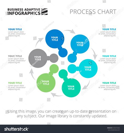 Editable Infographic Template Process Chart Blue Stock Vector 333272426 Shutterstock Editable Infographic Templates