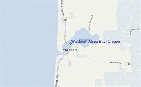 waldport alsea bay oregon tide station location guide
