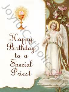 happy birthday to a special priest greeting card