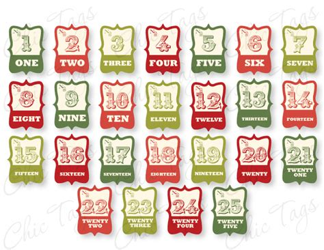 printable numbers 1 30 christmas 6 best images of printable christmas numbers 1 30 free